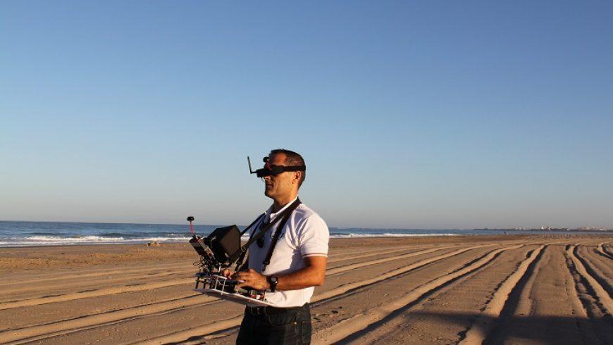 vuelo con imagen en tiempo real